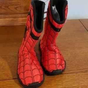 Bnwt Boys 9/10 Disney Spiderman House Boots